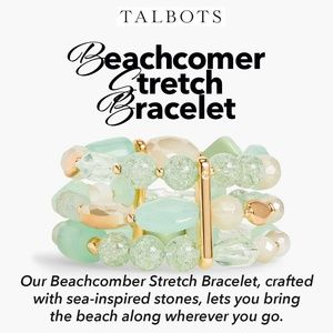 "Talbots Bracelet ""Beachcomer Stretch""🆕️🌊⛱"